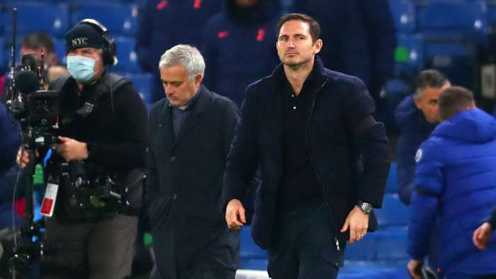 Frank Lampard Chelsea vs Tottenham Premier League 2020-21