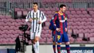 Cristiano Ronaldo Lionel Messi Juventus Barcelona