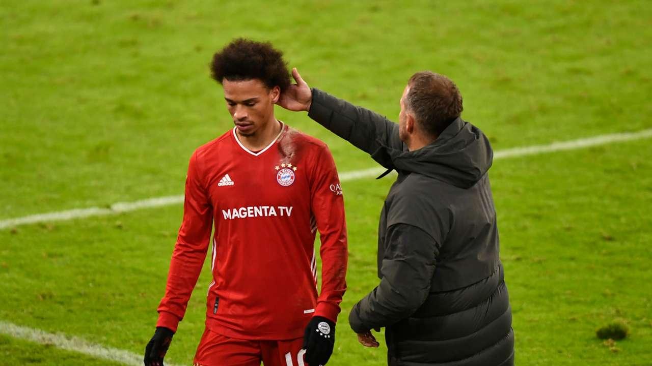 Leroy Sane/Hansi Flick Bayern Munich 2020-21