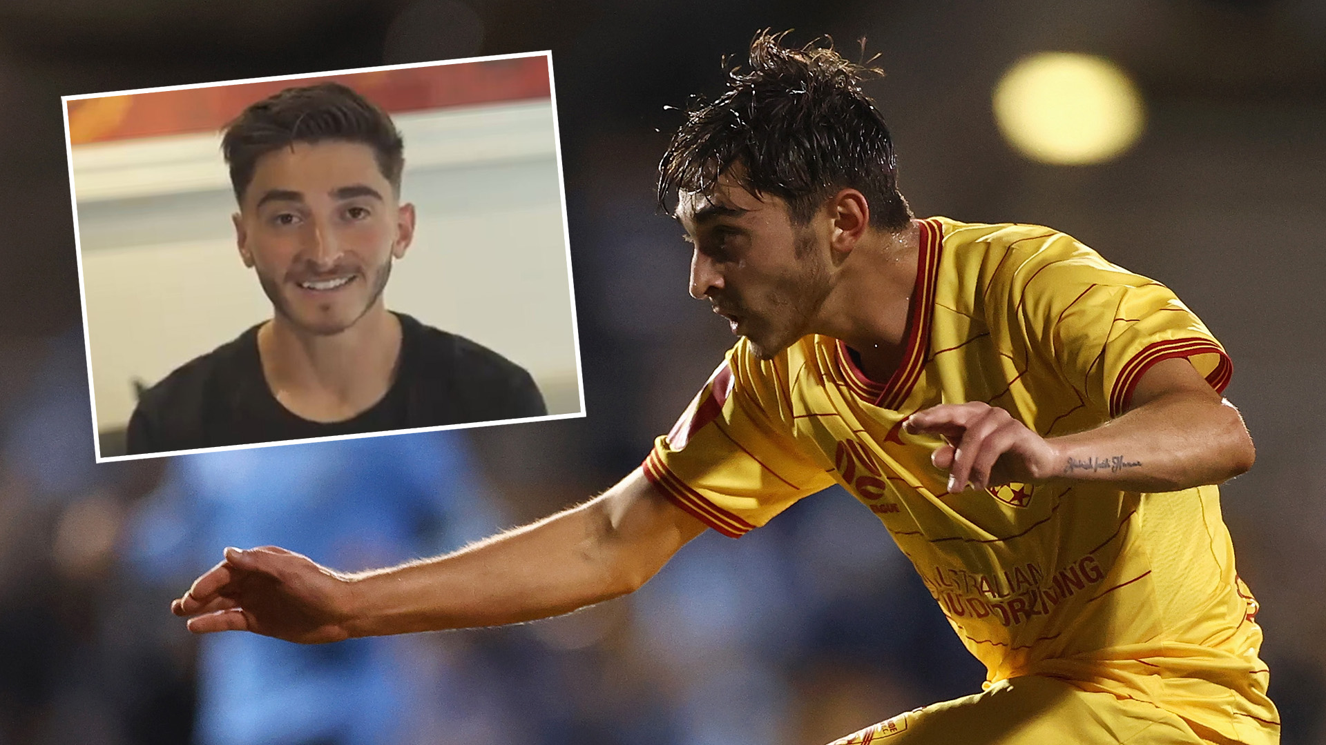 'I'm a footballer and I'm gay' - Josh Cavallo makes powerful statement as Adelaide United star calls for change