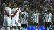 Fernando Gago Argentina Peru World Cup qualifying