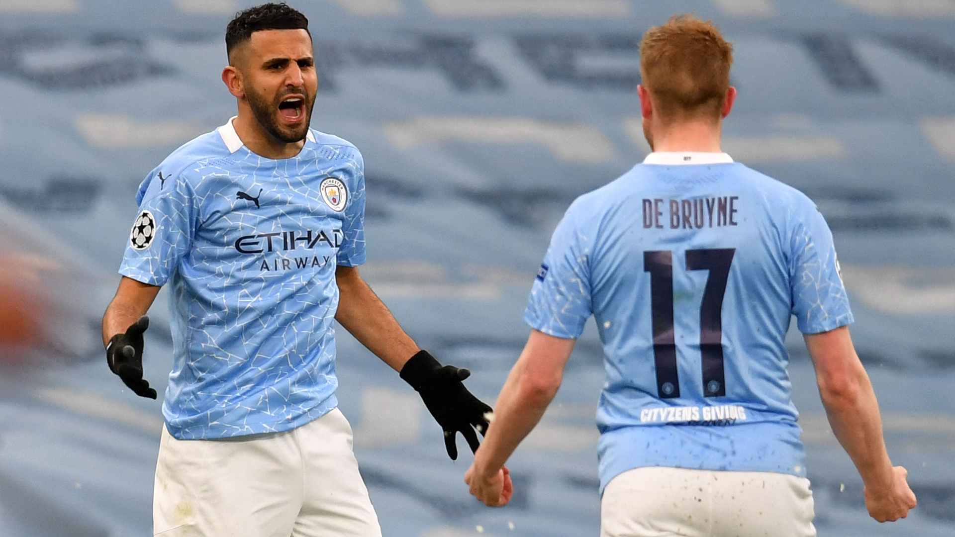 Man City winner Mahrez claims PSG 'lost their temper and started kicking us'