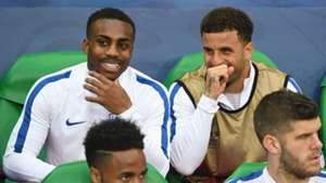 Danny Rose Kyle Walker England EURO 2016