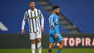 Cristiano Ronaldo Lorenzo Insigne Juventus Napoli