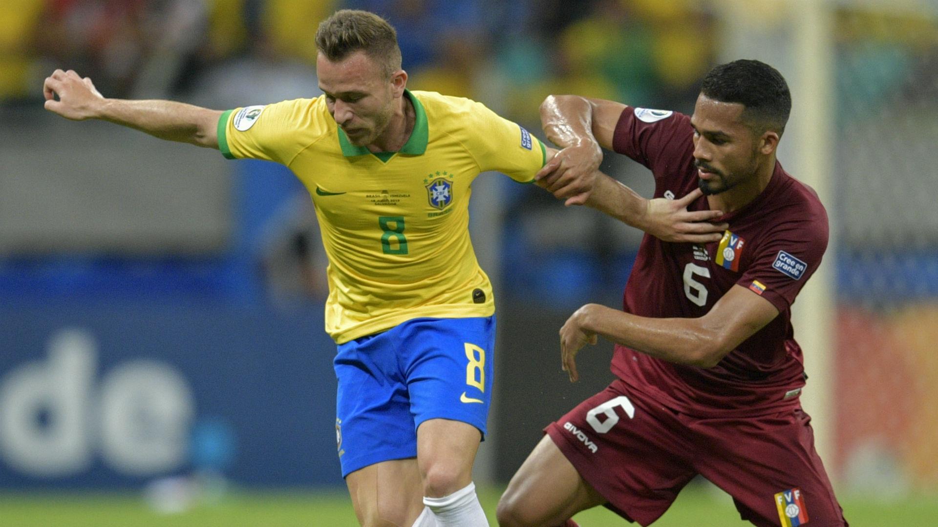 Arthur Yangel Herrera Brazil Venezuela Copa America 2019