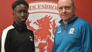Gitau: Middlesbrough FC sign Kenya's full-back on an academic scholarship