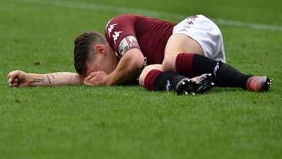 Andrea Belotti injured Torino Verona
