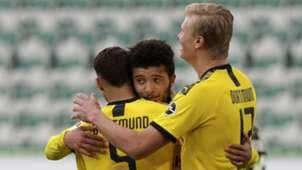 Achraf Hakimi Jadon Sancho Erling Haaland Dortmund 2019-20
