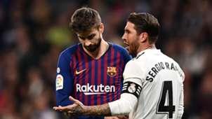 Pique/Ramos Barcelona v Real Madrid 2018-19