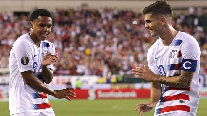 Pulisic McKennie Gold Cup USMNT