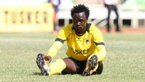 Danson Kago reacts after the draw