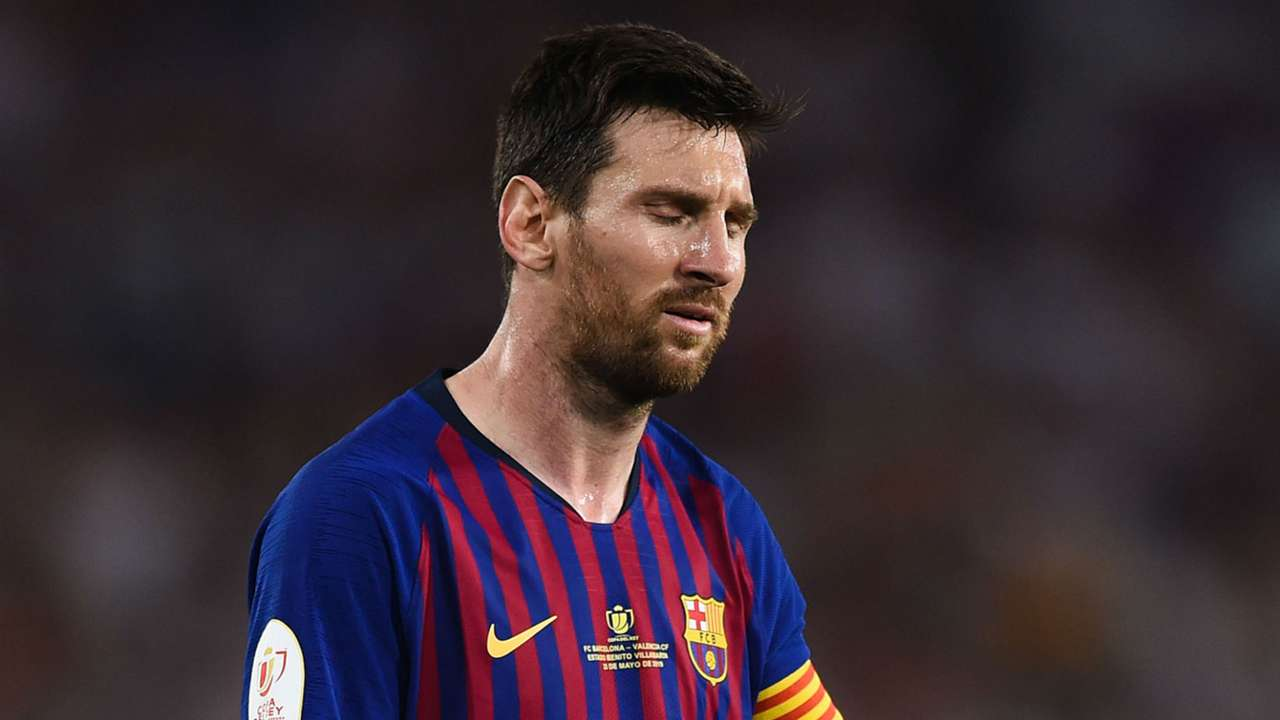 Lionel Messi Barcelona Valencia Copa del Rey 2019