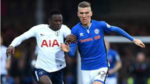 Victor Wanyama of Tottenham in FA Cup action.