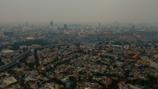 Mexico City air polution