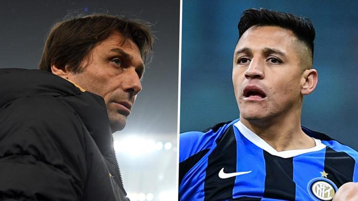 Antonio Conte, Alexis Sanchez, Inter