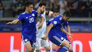Lionel Messi Matias Rojas Paraguay Argentina Copa America 2019