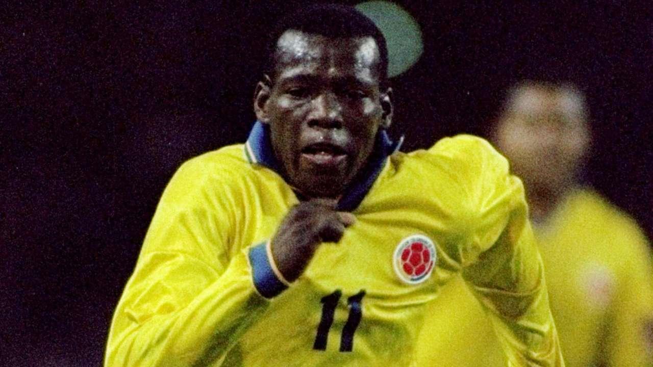 Faustino Asprilla Colombia