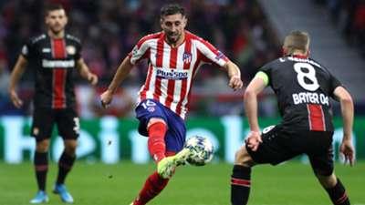 Hector Herrera Atletico de Madrid Bayer Leverkusen UCL 22102019