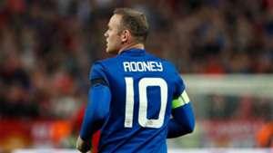 Wayne Rooney Manchester United Europa League