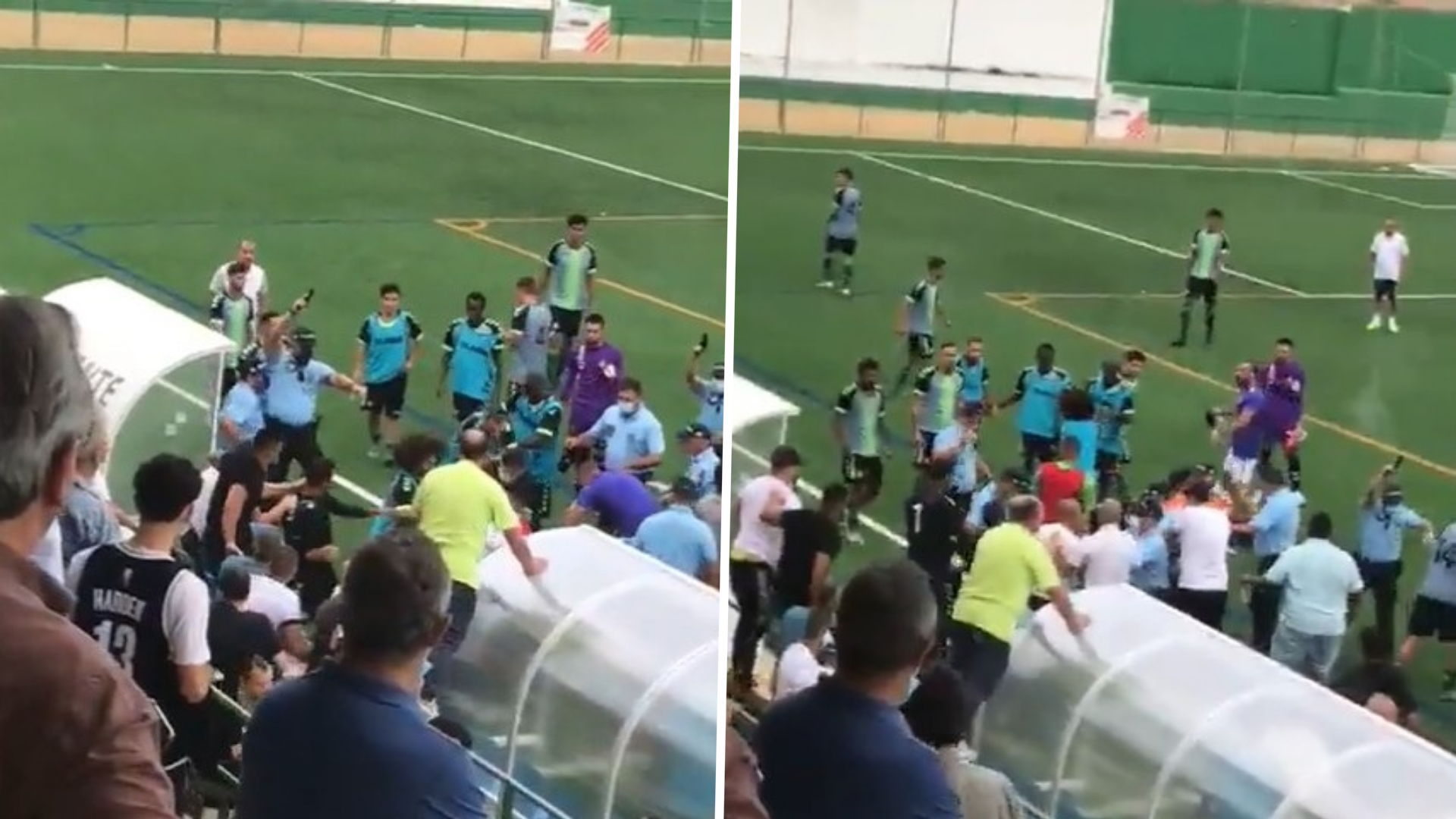 Gunshots fired in Portugal during post-match fight between players and fans