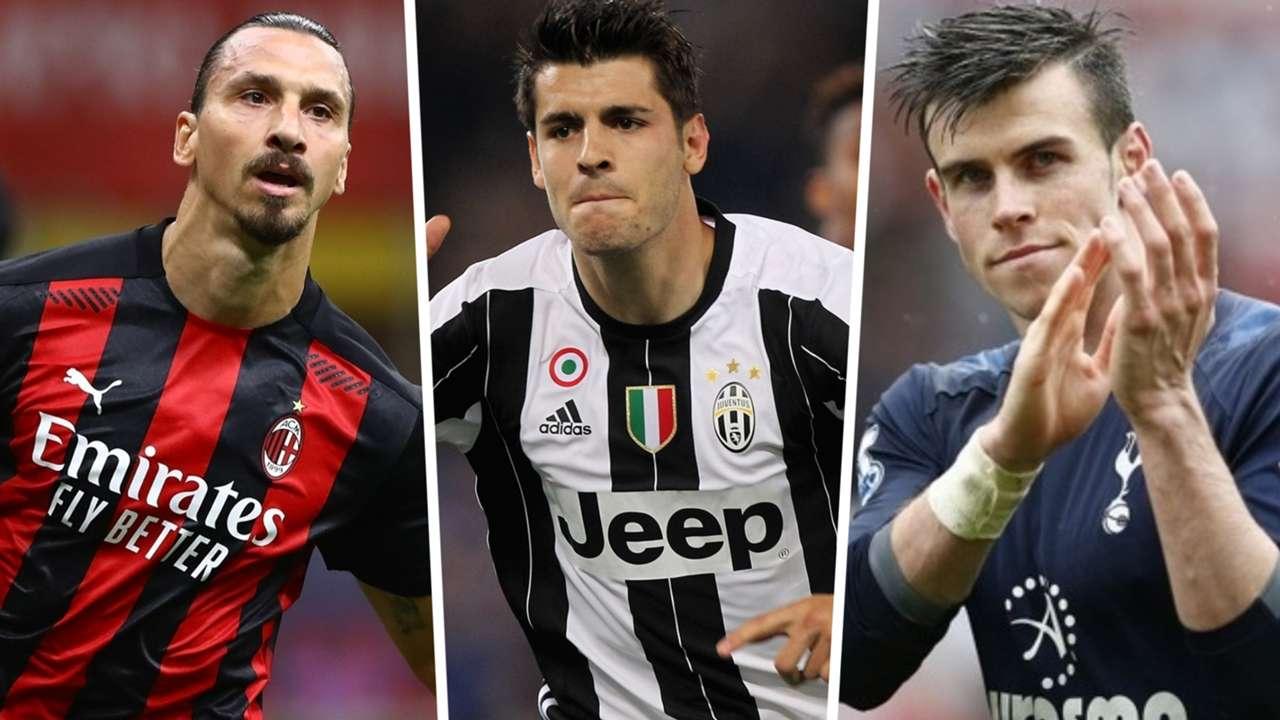 Ibrahimovic, Morata, Bale
