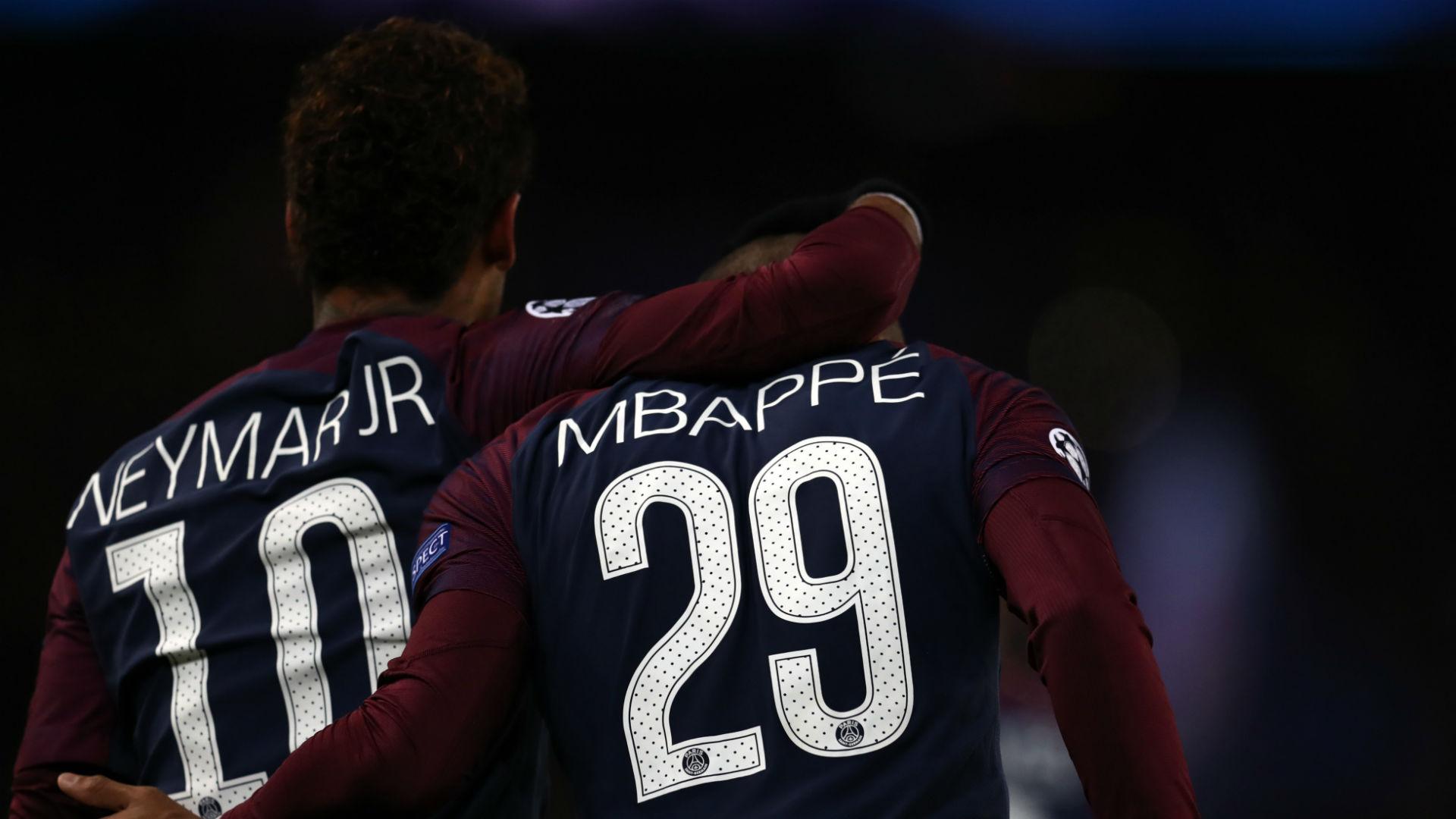 Neymar Kylian Mbappe PSG