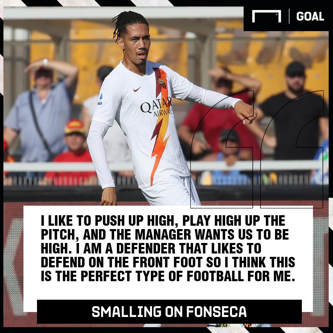 Chris Smalling Fonseca Roma PS