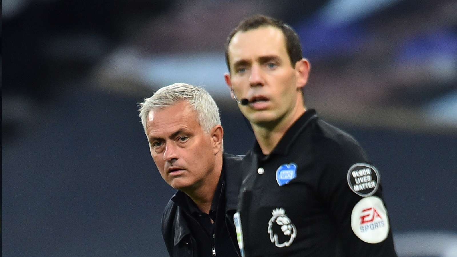 Mourinho Spurs referee 2020