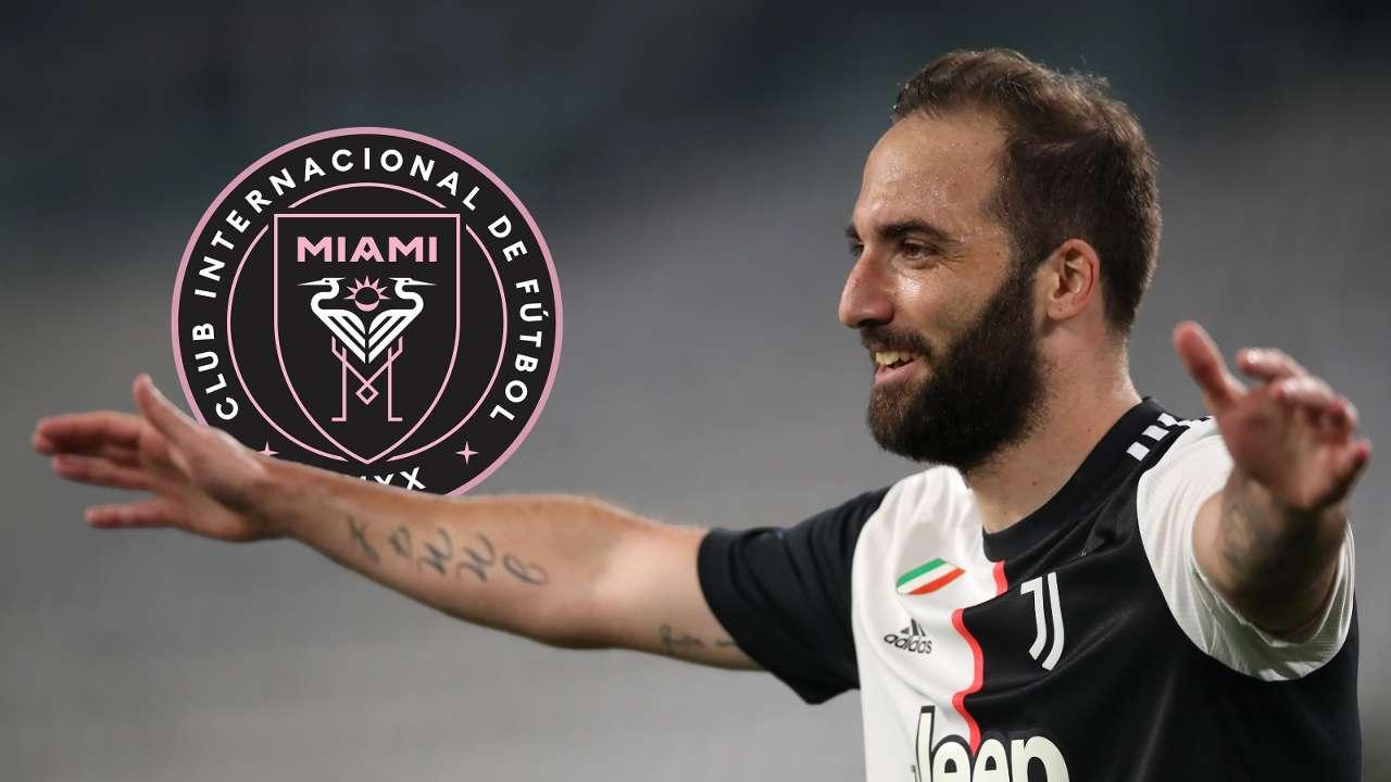 Gonzalo Higuain Inter Miami GFX