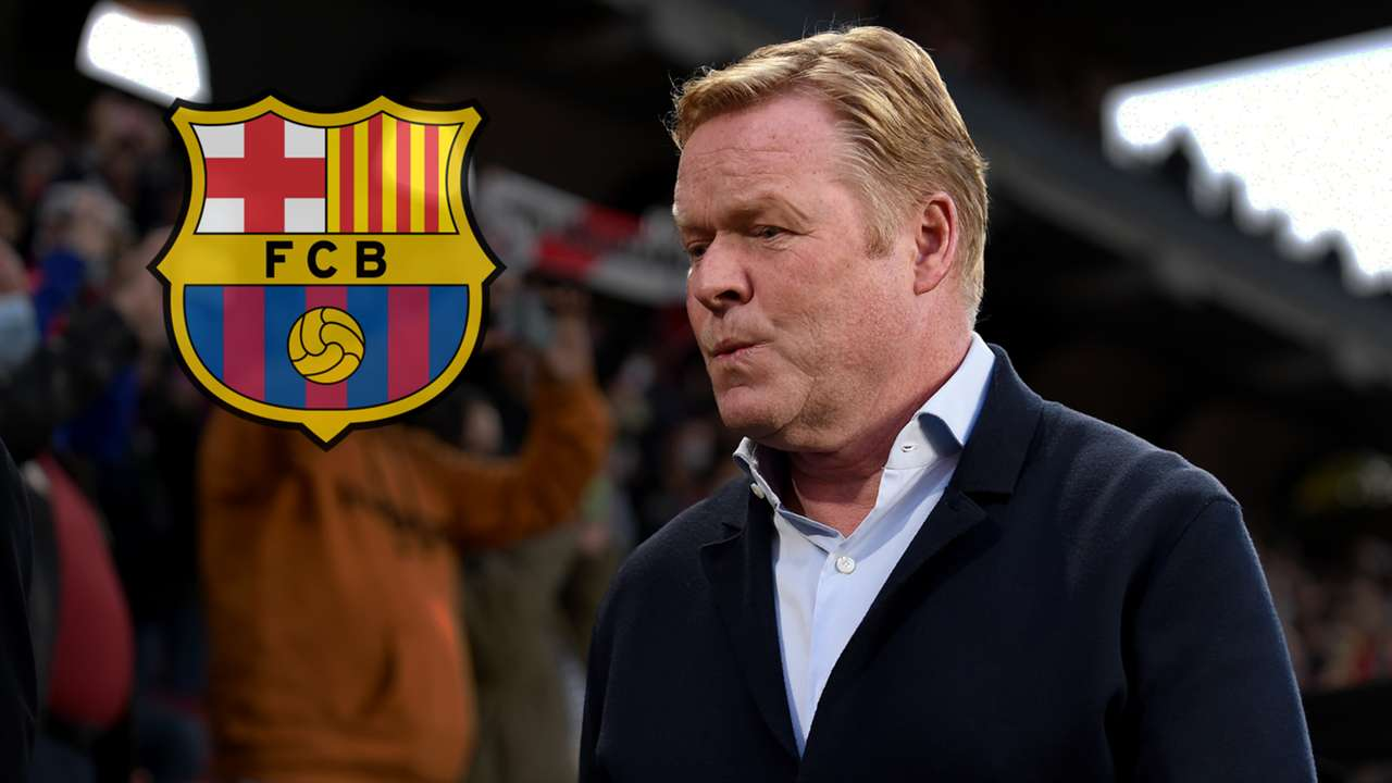 Ronald Koeman Barcelona GFX