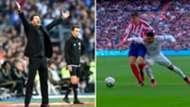 Simeone y Morata y Casemiro, Real Madrid-Atlético de Madrid