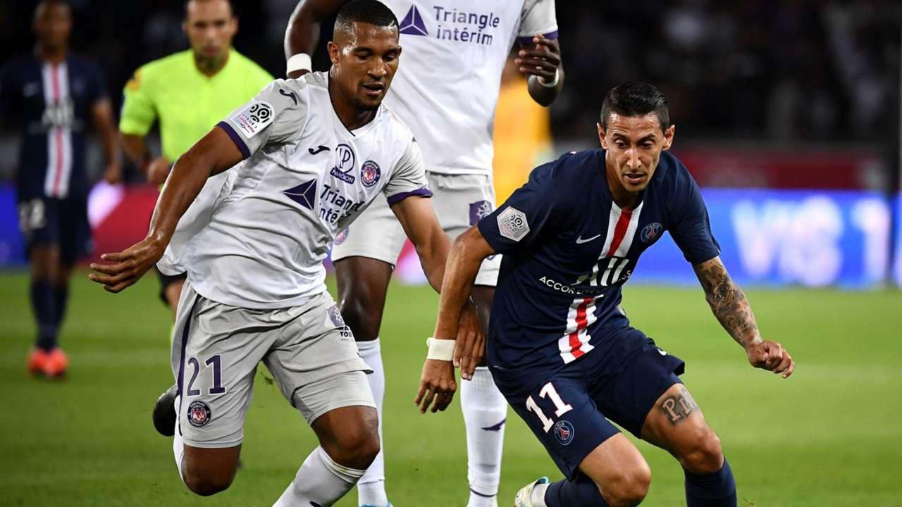 William Vainqueur Angel Di Maria FC Toulouse PSG