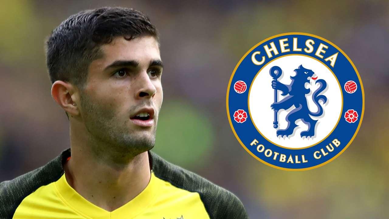 Christian Pulisic Dortmund Chelsea