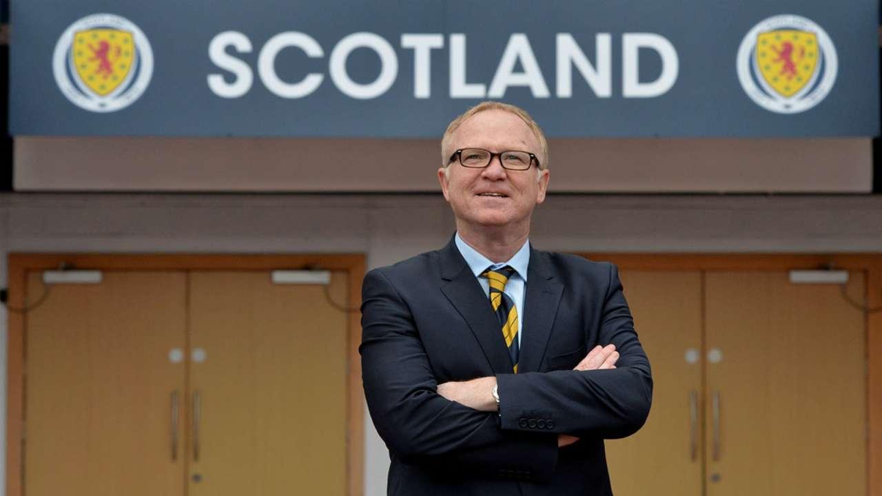 Alex McLeish Scotland