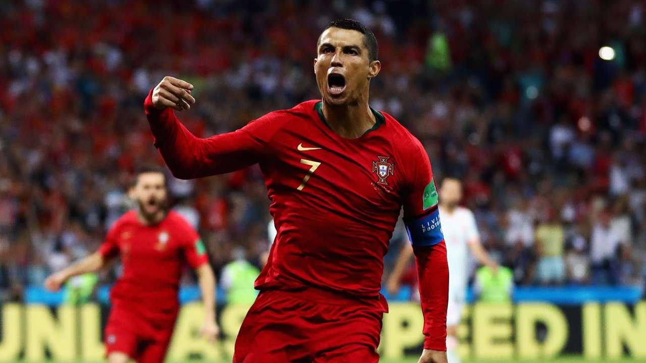 Cristiano Ronaldo Portugal Spain 2018