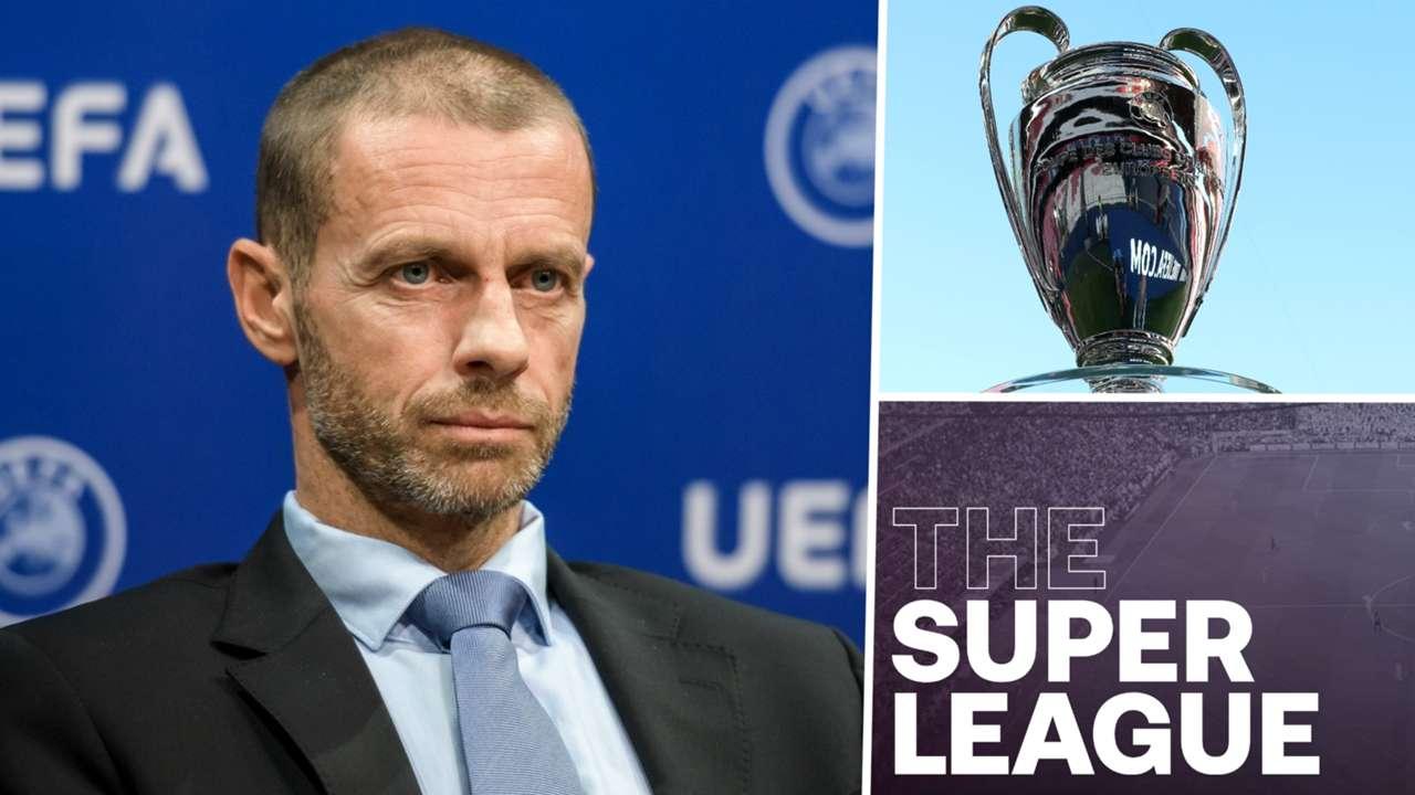 Aleksander Ceferin Champions League Super League