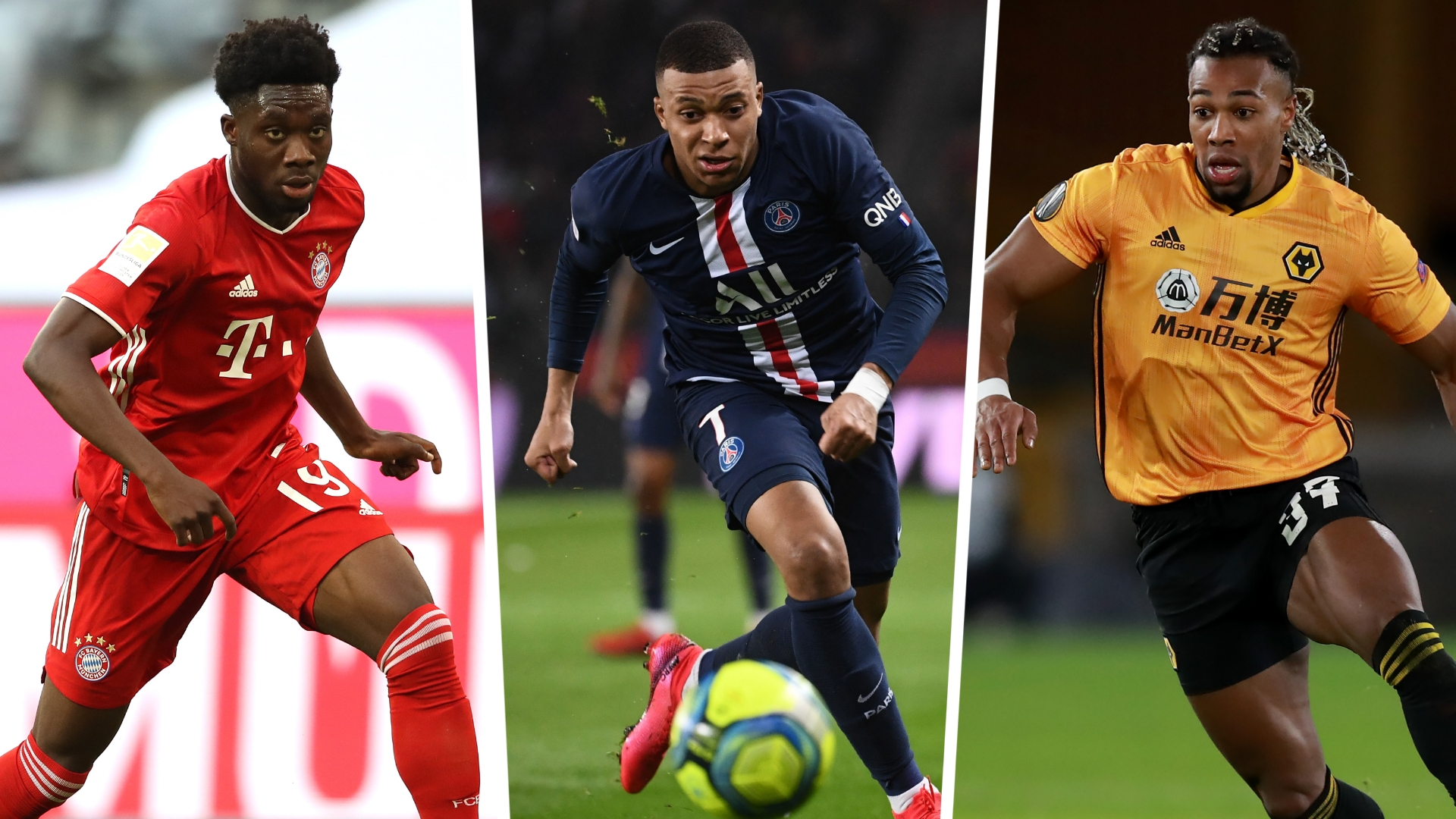 Fifa 21 Pace Ratings Traore Mbappe And The 20 Quickest Players Goal Com