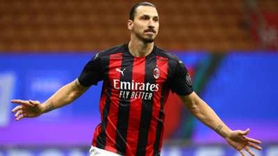 Zlatan Ibrahimovic - Milan Roma - Serie A 2020/21