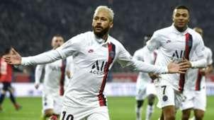 Neymar Lille v PSG 01262020