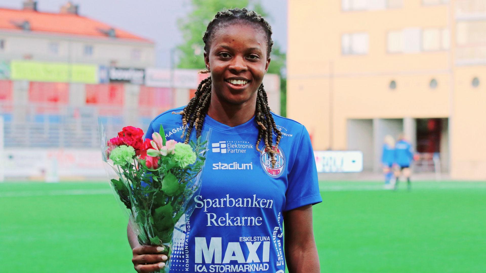 Ngozi Okobi: Nigeria midfielder the heroine as Eskilstuna United pip Umea | Goal.com