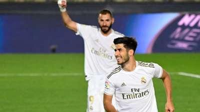 Asensio Benzema Real Madrid Valencia 18062020