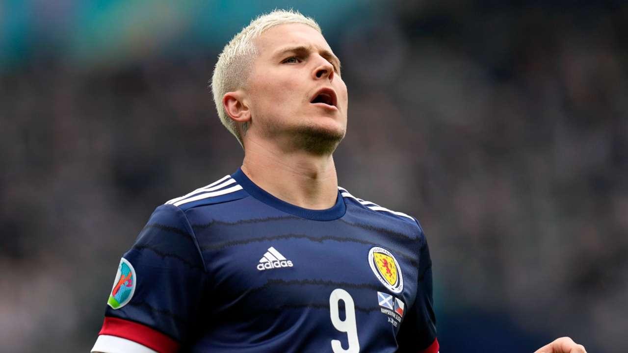 Lyndon Dykes Scotland vs Czech Republic Euro 2020