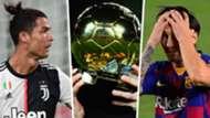 Ronaldo Messi Ballon d'Or GFX