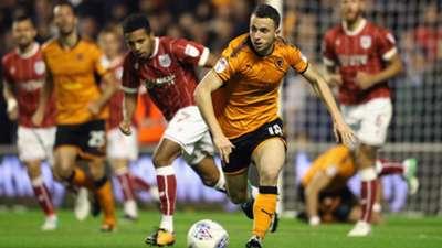 Diogo Jota Wolverhampton Wanderers 12092017