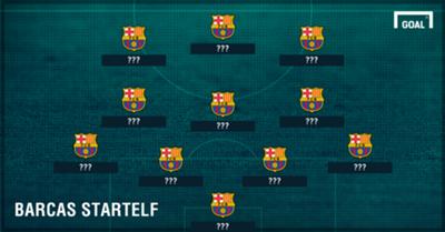 GFX Info Barca Line-Up
