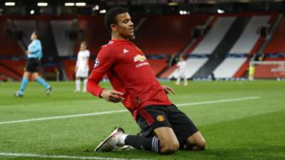 Mason Greenwood, Man Utd vs RB Leipzig, Champions League 2020-21