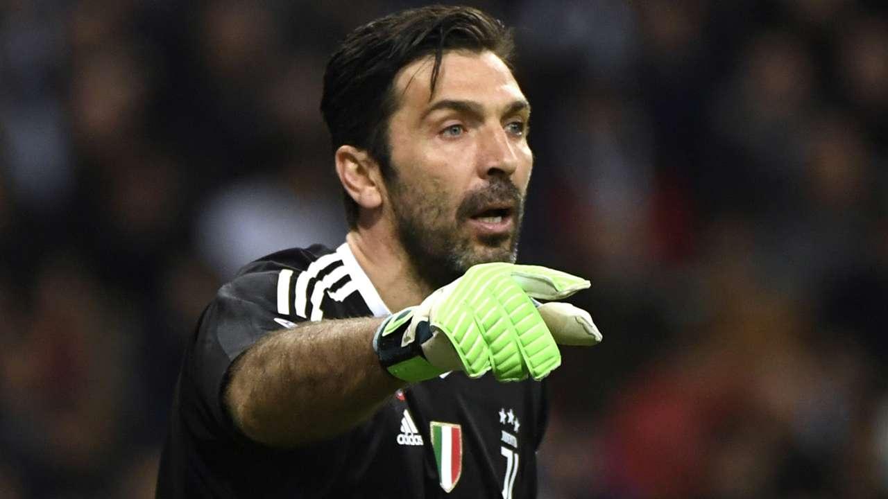 Gigi Buffon Real Madrid Juventus Champions League