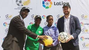 Thembi Kgatlana partners with La Liga