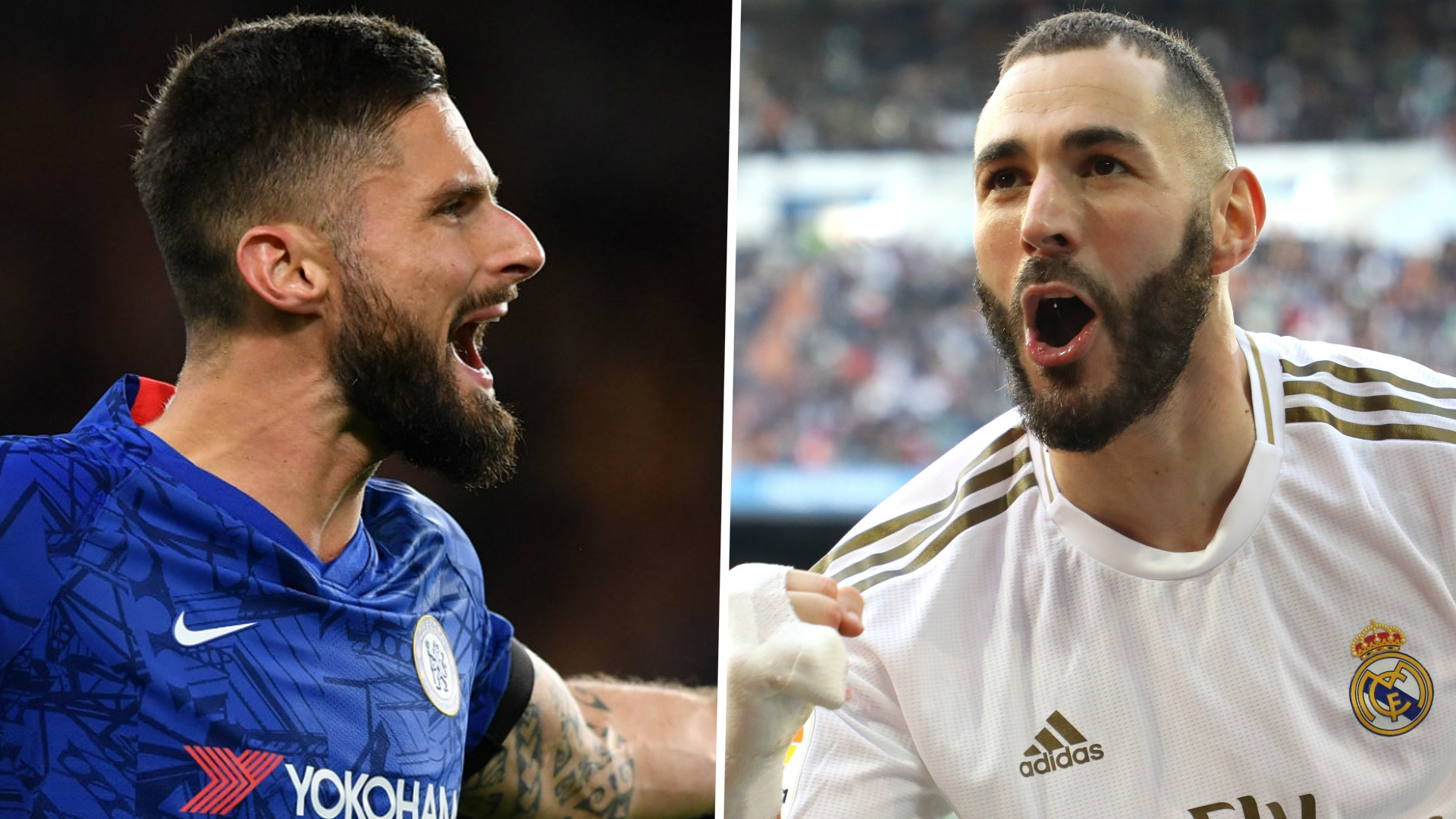 'I never had a dispute with Benzema' - Giroud says Madrid striker's France exile is 'kind of a mess'
