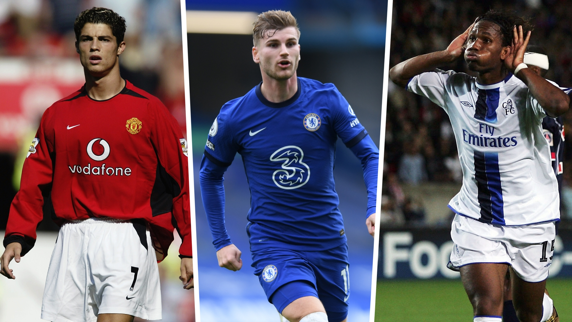 Werner idolised 'young Ronaldo' & Drogba as Chelsea striker looks to write his own success story